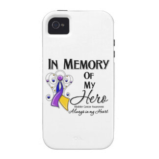 Bladder Cancer In Memory of My Hero iPhone 4/4S Cases