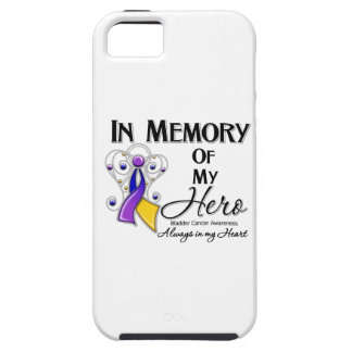 Bladder Cancer In Memory of My Hero iPhone 5 Case