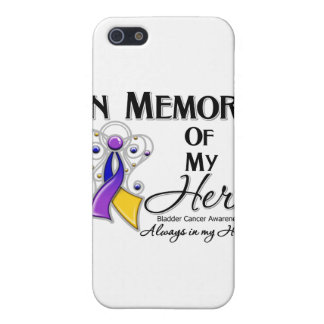 Bladder Cancer In Memory of My Hero Cover For iPhone 5