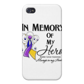 Bladder Cancer In Memory of My Hero iPhone 4/4S Cover