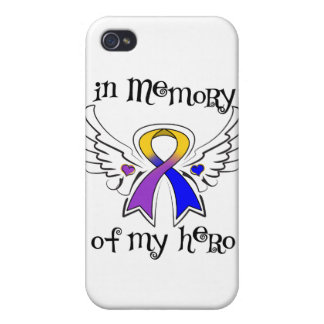 Bladder Cancer In Memory of My Hero iPhone 4 Case