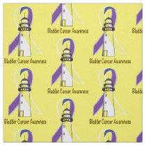 Bladder Cancer Lighthouse of Hope Fabric