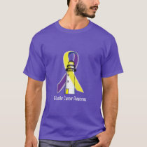 Bladder Cancer Lighthouse of Hope T-Shirt