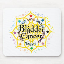 Bladder Cancer Lotus Mouse Pad