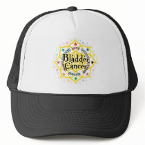 Bladder Cancer Lotus Trucker Hat