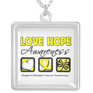 Bladder Cancer Love Hope Awareness Jewelry