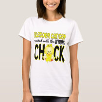 Bladder Cancer Messed With The Wrong Chick T-Shirt