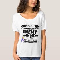 Bladder Cancer Met Its Worst Enemy in Me T-Shirt
