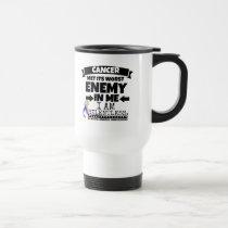 Bladder Cancer Met Its Worst Enemy in Me Travel Mug