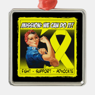 Bladder Cancer Mission We Can Do It Christmas Tree Ornaments