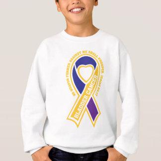 bladder cancer no weapon formed against me sweatshirt
