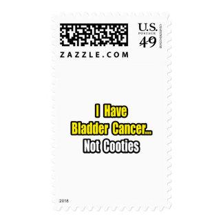 Bladder Cancer...Not Cooties Postage Stamp