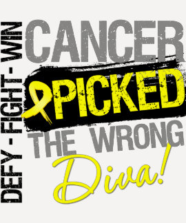Bladder Cancer Picked The Wrong Diva Shirts