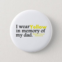 Bladder Cancer Pinback Button