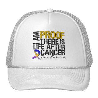 Bladder Cancer Proof There is Life After Cancer Hat