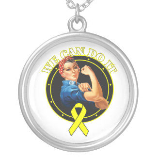 Bladder Cancer - Rosie The Riveter - We Can Do It Pendant
