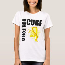 Bladder Cancer Run For A Cure T-Shirt