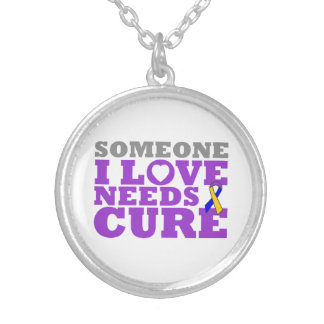 Bladder Cancer Someone I Love Needs A Cure Pendant
