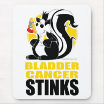 Bladder Cancer Stinks Mouse Pad