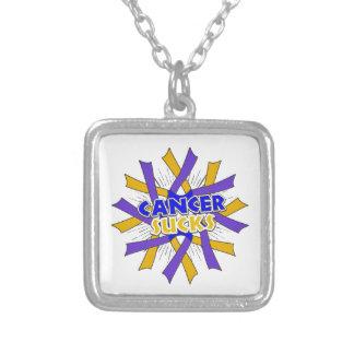 Bladder Cancer Sucks Necklace