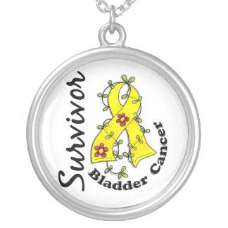 Bladder Cancer Survivor 15 Custom Necklace