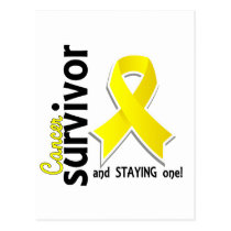 Bladder Cancer Survivor 19 Postcard