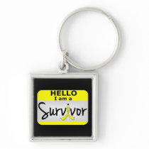 Bladder Cancer Survivor 24.png Keychain