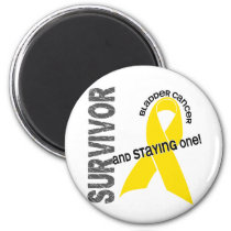 Bladder Cancer Survivor Magnet