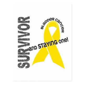Bladder Cancer Survivor Postcard