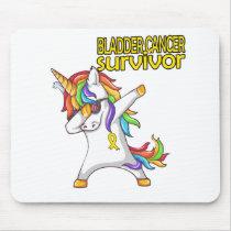 BLADDER CANCER Survivor Stand-Fight-Win Mouse Pad