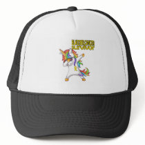 BLADDER CANCER Survivor Stand-Fight-Win Trucker Hat