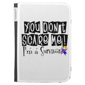 Bladder Cancer Survivor You Don't Scare Me Kindle 3G Covers