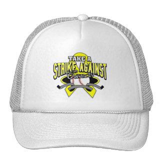 Bladder Cancer Take A Strike Trucker Hat