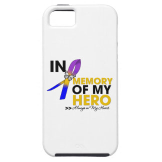 Bladder Cancer Tribute In Memory of My Hero iPhone 5 Cases