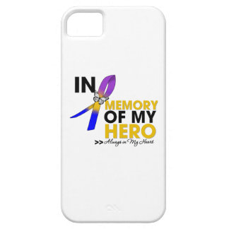 Bladder Cancer Tribute In Memory of My Hero iPhone 5 Covers