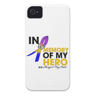 Bladder Cancer Tribute In Memory of My Hero iPhone 4 Case-Mate Cases