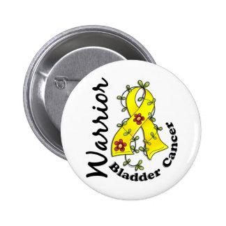 Bladder Cancer Warrior 15 Pinback Button