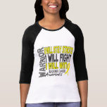 Bladder Cancer Warrior Tee Shirt