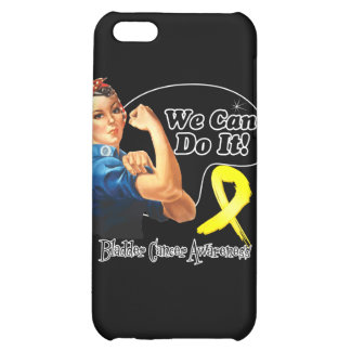 Bladder Cancer We Can Do It Rosie The Riveter iPhone 5C Covers
