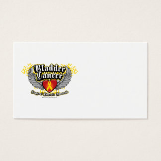 Bladder Cancer Wings Business Card