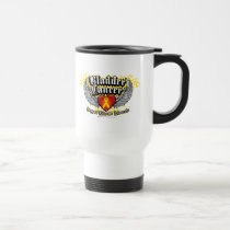 Bladder Cancer Wings Travel Mug