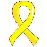 Bladder Cancer Yellow Ribbon 3 Photo Sculpture