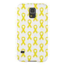 Bladder Cancer Yellow Ribbon Phone Case