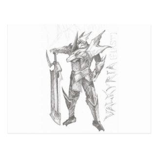 blade_knight postcard