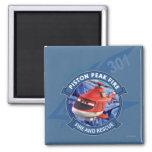 Blade Ranger Badge 2 Inch Square Magnet