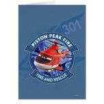 Blade Ranger Badge Greeting Cards