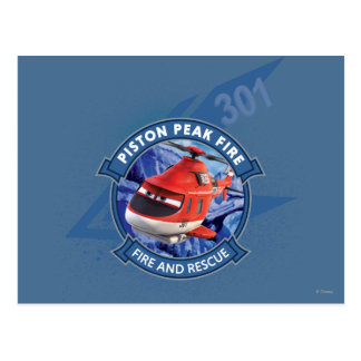 Blade Ranger Badge Postcard