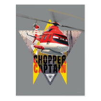 Blade Ranger Chopper Captain Postcard