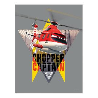 Blade Ranger Chopper Captain Postcard