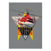 Blade Ranger Chopper Captain Poster